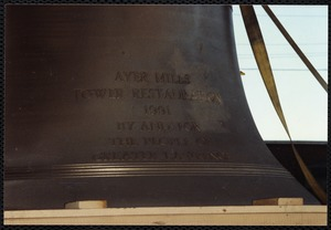 Restoration of Ayer Mill clock