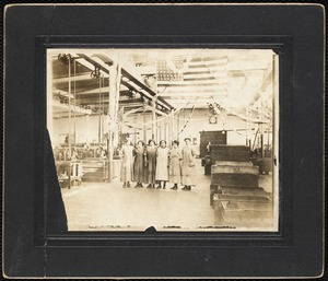 Wood Mill workers, 1916