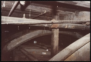 Lower Pacific Mills. Atop main penstock to power generators cellar