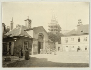 Kapelle von Außen: Exterior view of Chapel, Imperial  Royal Institute for the Education of the Blind, Vienna