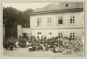 Alle Teilnehmer & Lehrer: All the Participants & Teachers, Imperial  Royal Institute for the Education of the Blind, Vienna
