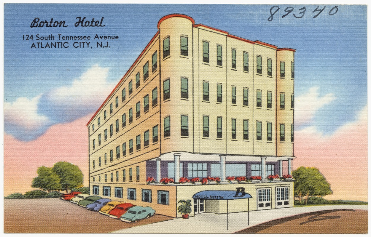 Borton Hotel, 124 South Tennessee Avenue, Atlantic City, N.J.