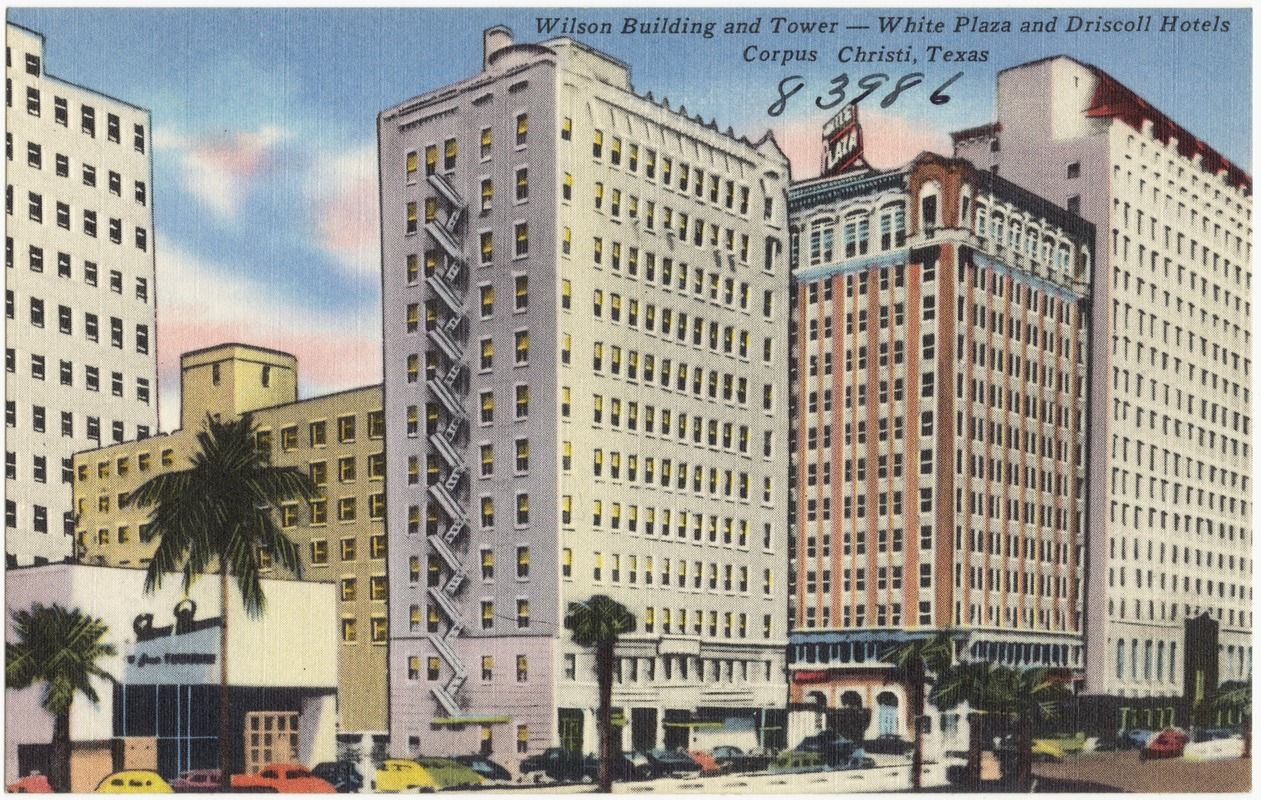 Wilson Building And Tower White Plaza Driscoll Hotels Corpus Christi Texas