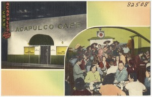 Acapulco Café, 1501 McKinney at field -- Dallas, Texas