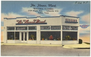The Flower Mart, beautiful flowers, 3729 Ave., Lakeside 4151, Dallas, Texas