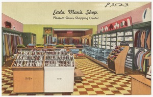 Eads Man's Shop, Pleasant Grove Shopping Center