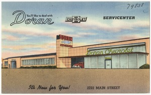 You'll like to deal with Doran Chevrolet Servicenter, it's new for you!, 2222 Main Street