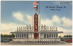At Sivils Drive In, Dallas, Texas