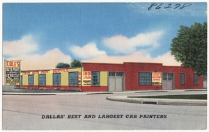 Cole's Auto Paint Service, Dallas' best and largest car painters