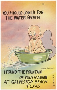 You should join us for the water sports, I found the fountain of youth again at Galveston Beach, Texas