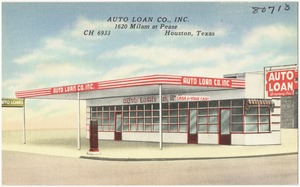 Auto Loan Co., Inc., 1620 Milam at Pease, CH 6933, Houston, Texas