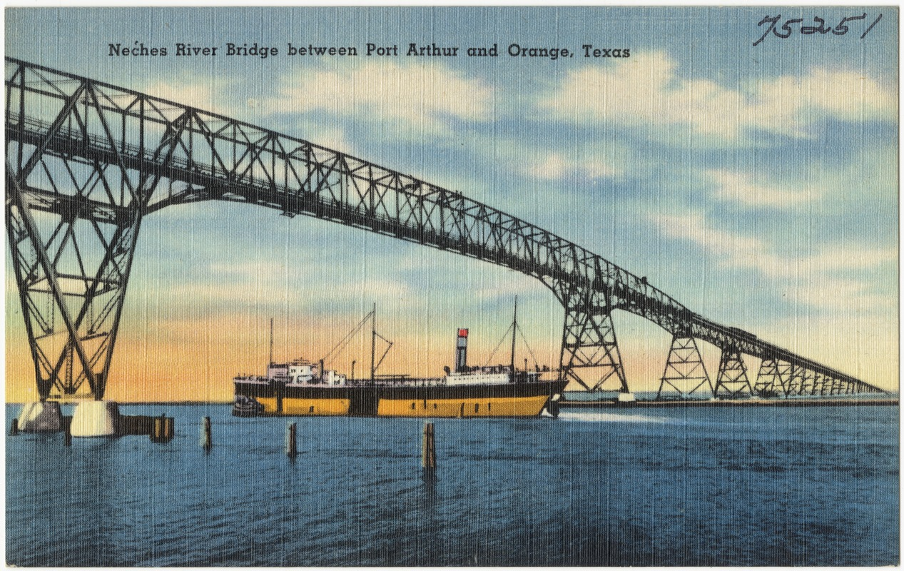 Neches River Bridge Between