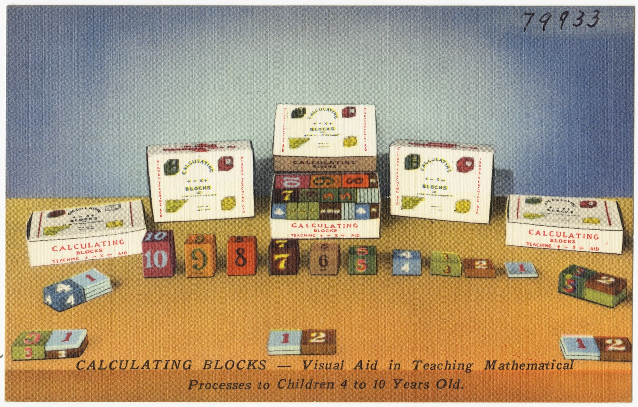 Calculating Blocks -- Visual aid in teaching mathematical process to ...