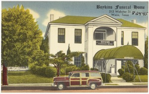 Boykins Funeral Home, 212 Webster St., Waco, Texas