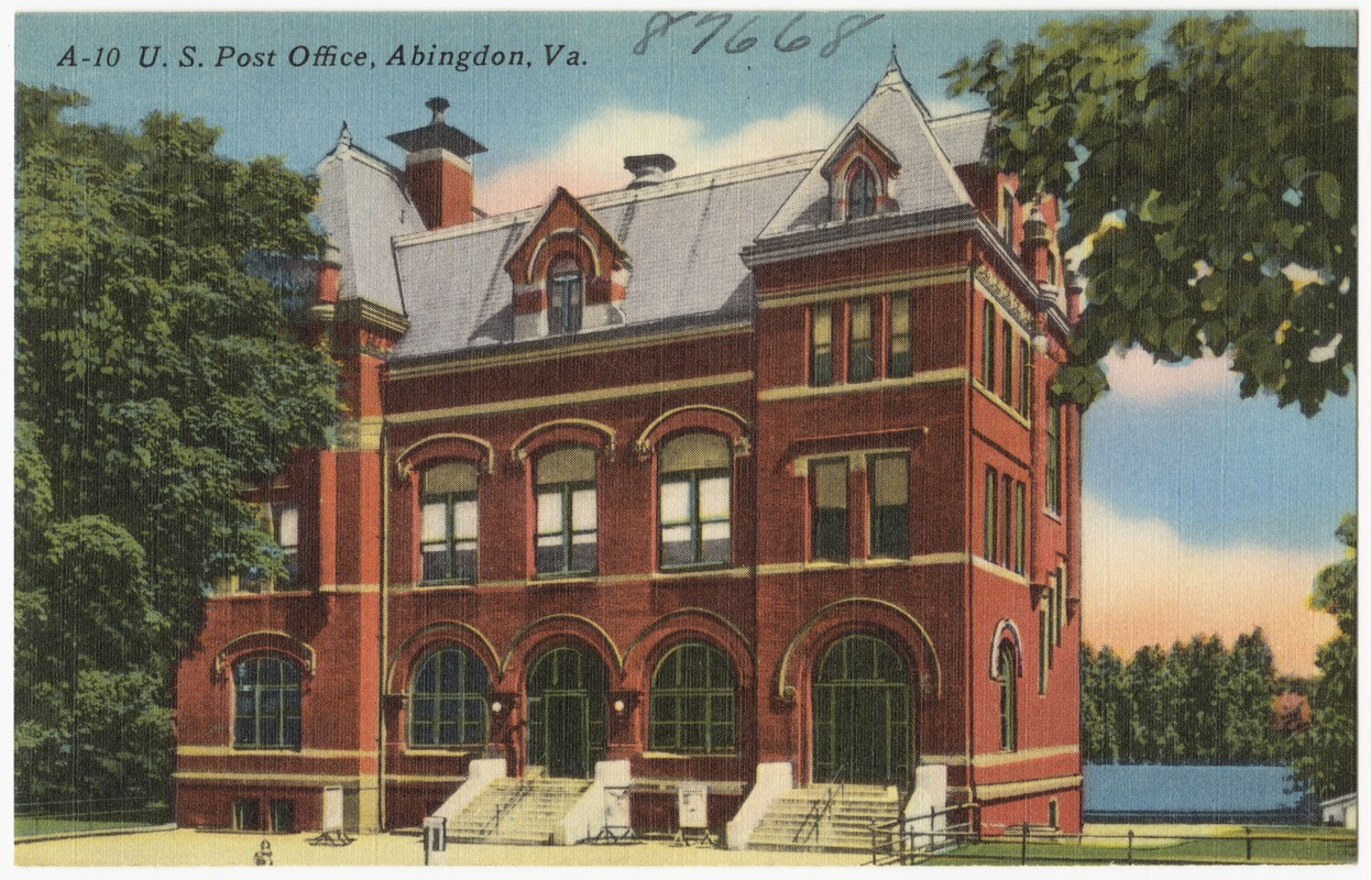A-10. U.S. Post Office, Abingdon, Va.
