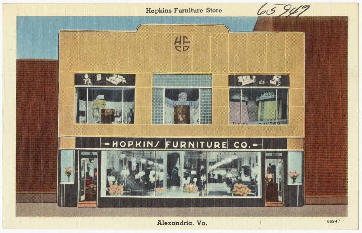 Hopkins Furniture Store, Alexandria, Va.