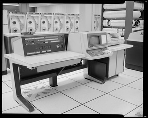 Grounds & facilities - data analysis office, UNIVAC system
