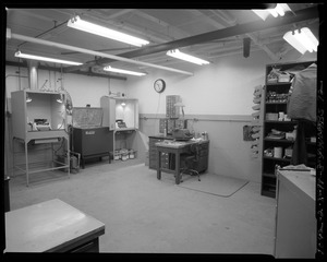 Grounds & facilities - copying center (office machine repair)