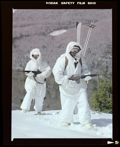 Snow camouflage suits