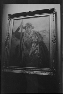 """A man and woman of Aran"" by Keating in the Municipal Gallery of Modern Art, Dublin, Ireland"