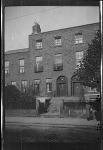 10 Pembroke Rd., Dublin, home of Miss Evelyn Gleeson, where I lived from August 1921