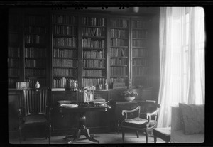 10 Pembroke Rd., Dublin, corner of the drawing room in Miss Gleeson's home