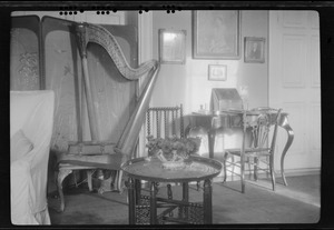 10 Pembroke Rd., Dublin, Ireland, the drawing room, Miss Gleeson's home