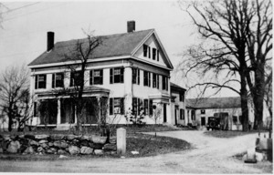 John Coolidge Sr.'s home and family.