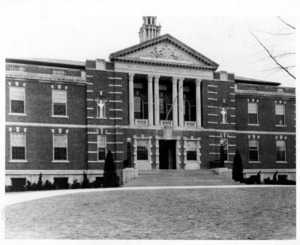 Administration Building (Town Hall) built by WPA in 1932.