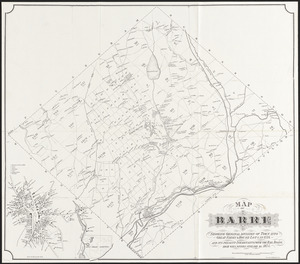 Map of Barre