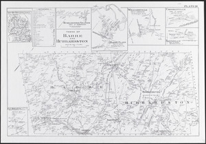 Towns of Barre and Hubbardston
